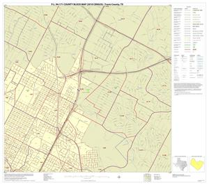 Primary view of P.L. 94-171 County Block Map (2010 Census): Travis County, Inset I02