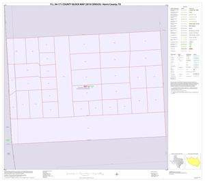 Primary view of object titled 'P.L. 94-171 County Block Map (2010 Census): Harris County, Inset Q01'.