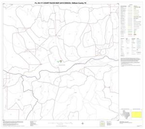 Primary view of object titled 'P.L. 94-171 County Block Map (2010 Census): Oldham County, Block 9'.