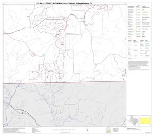 Primary view of object titled 'P.L. 94-171 County Block Map (2010 Census): Gillespie County, Block 20'.