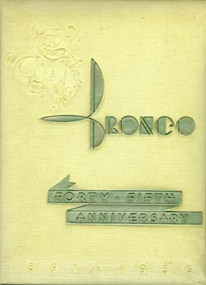 The Bronco, Yearbook of Hardin-Simmons University, 1936