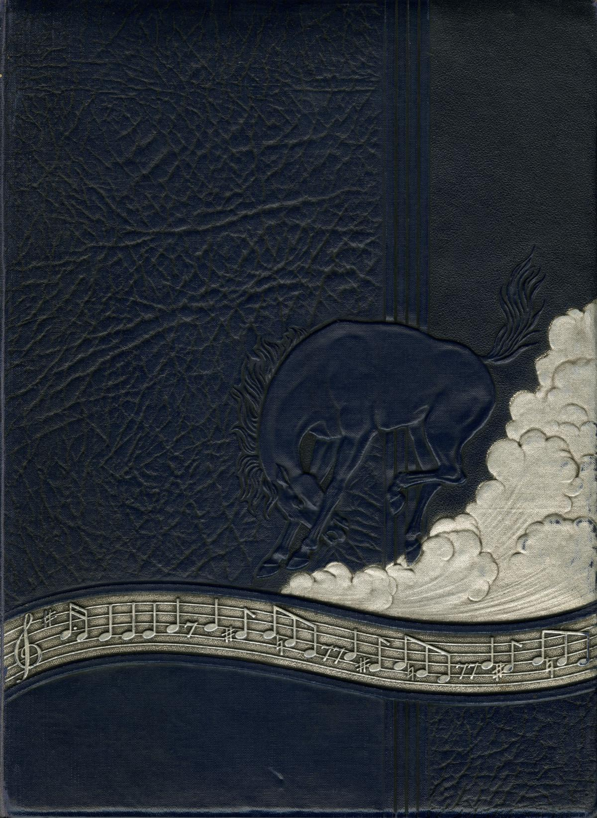 The Bronco, Yearbook of Hardin-Simmons University, 1935                                                                                                      Front Cover