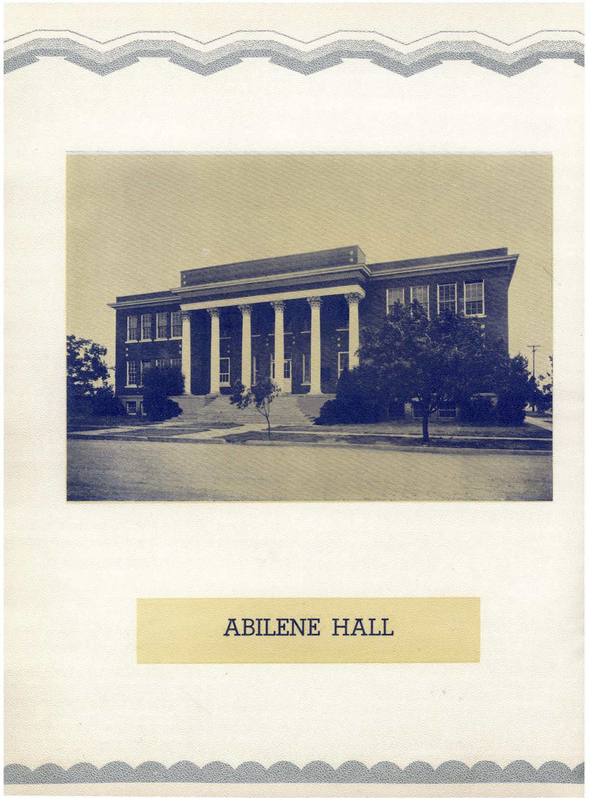 The Bronco, Yearbook of Hardin-Simmons University, 1935                                                                                                      8