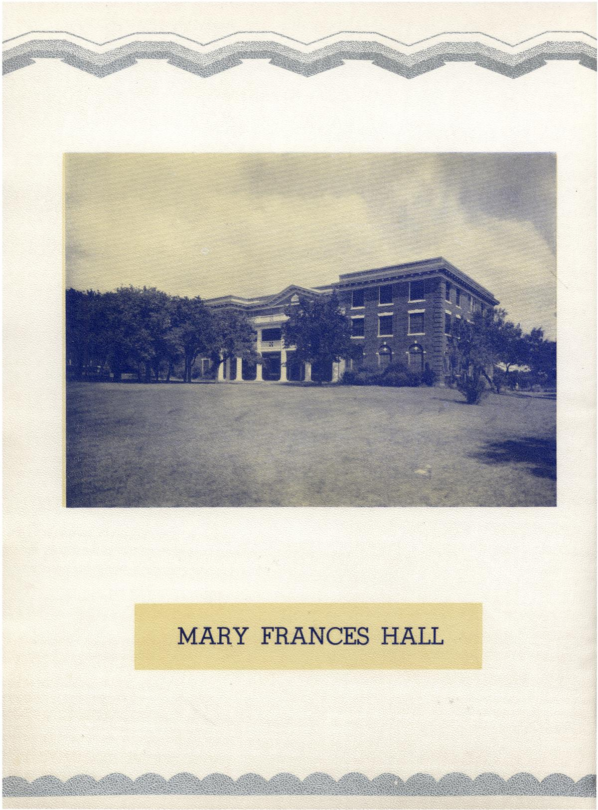 The Bronco, Yearbook of Hardin-Simmons University, 1935                                                                                                      10