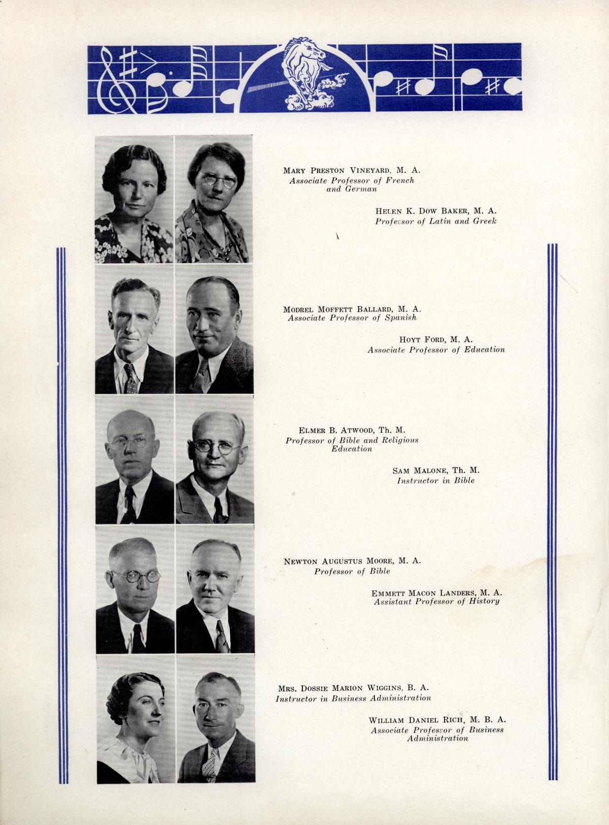 The Bronco, Yearbook of Hardin-Simmons University, 1935                                                                                                      26