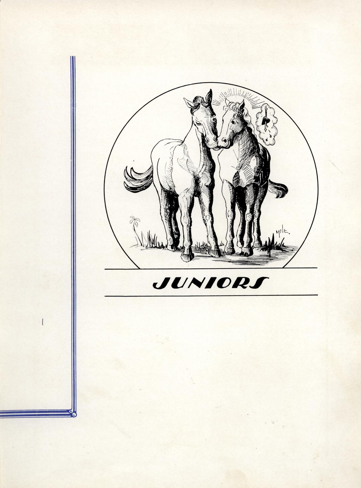 The Bronco, Yearbook of Hardin-Simmons University, 1935                                                                                                      43