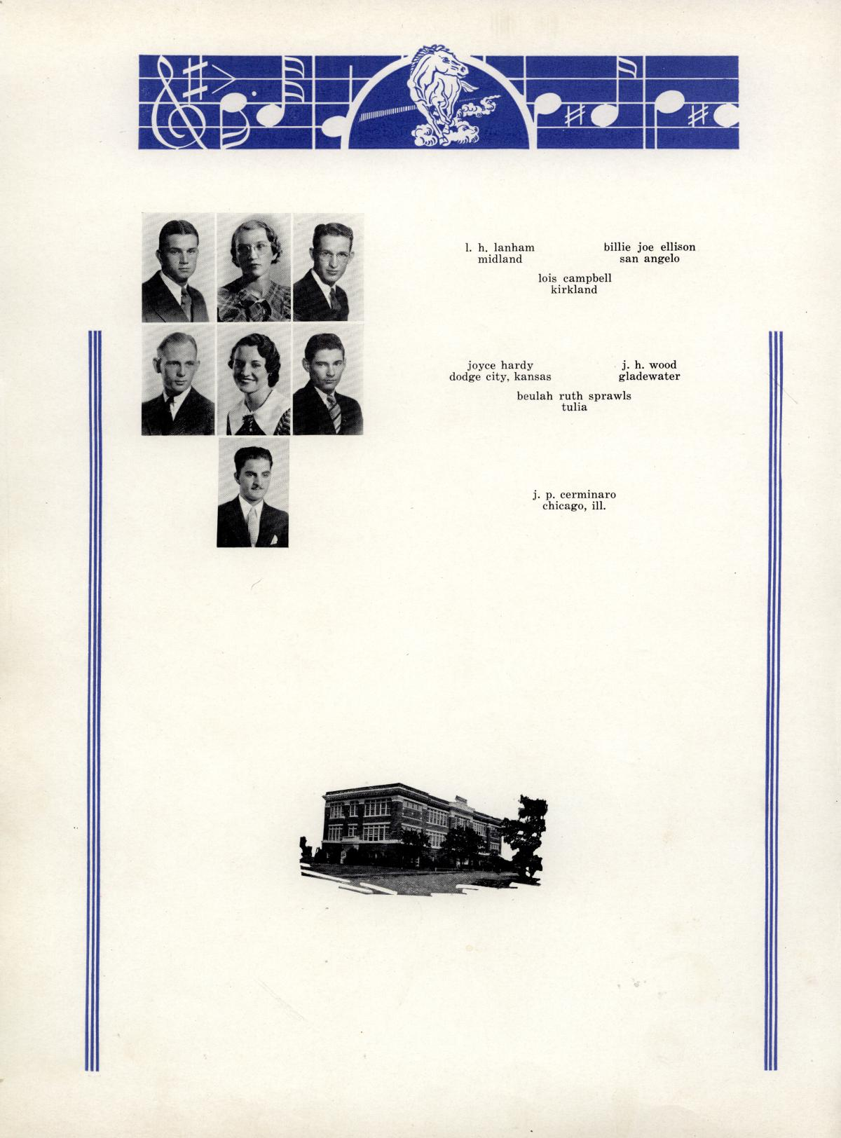 The Bronco, Yearbook of Hardin-Simmons University, 1935                                                                                                      66