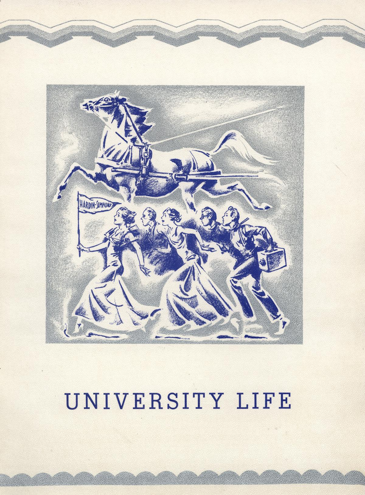 The Bronco, Yearbook of Hardin-Simmons University, 1935                                                                                                      None