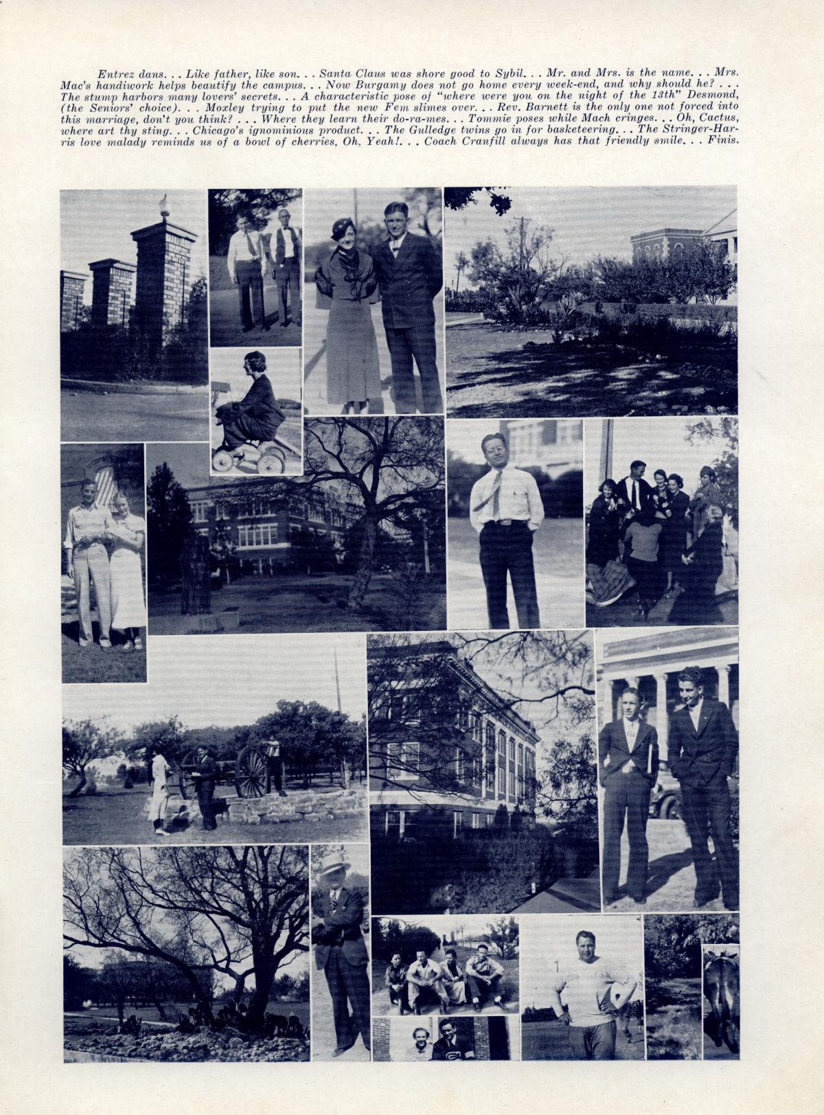 The Bronco, Yearbook of Hardin-Simmons University, 1935                                                                                                      87