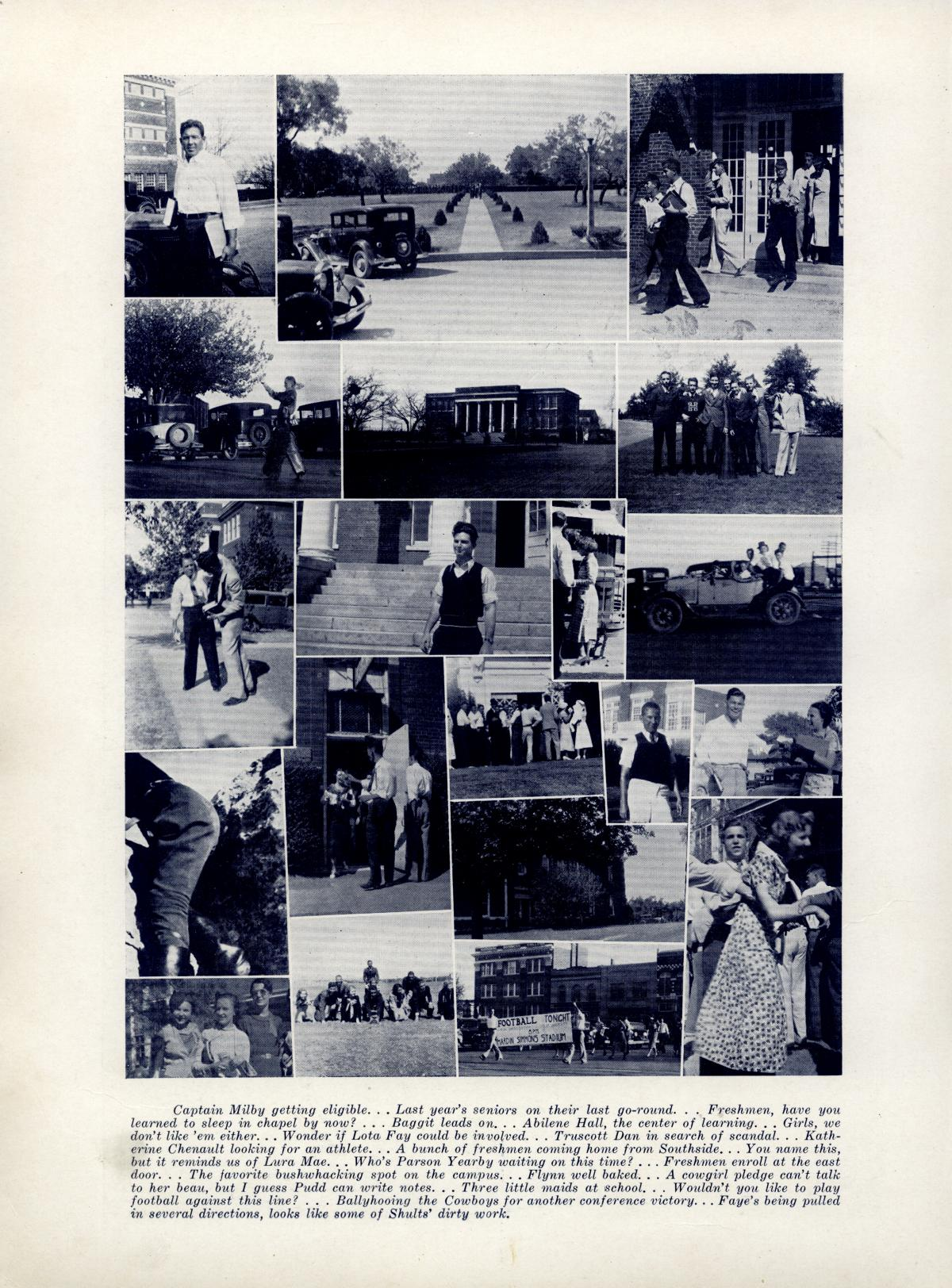 The Bronco, Yearbook of Hardin-Simmons University, 1935                                                                                                      88