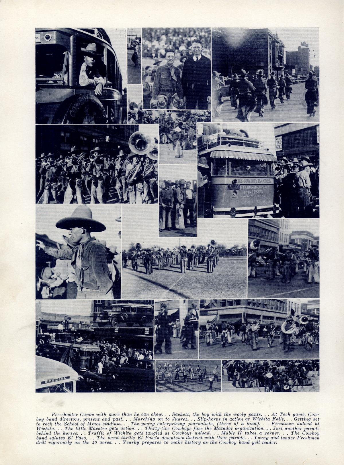 The Bronco, Yearbook of Hardin-Simmons University, 1935                                                                                                      90