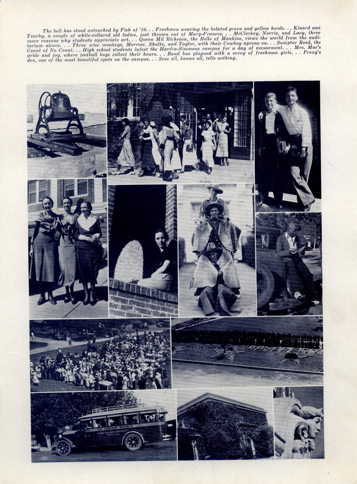 The Bronco, Yearbook of Hardin-Simmons University, 1935                                                                                                      91