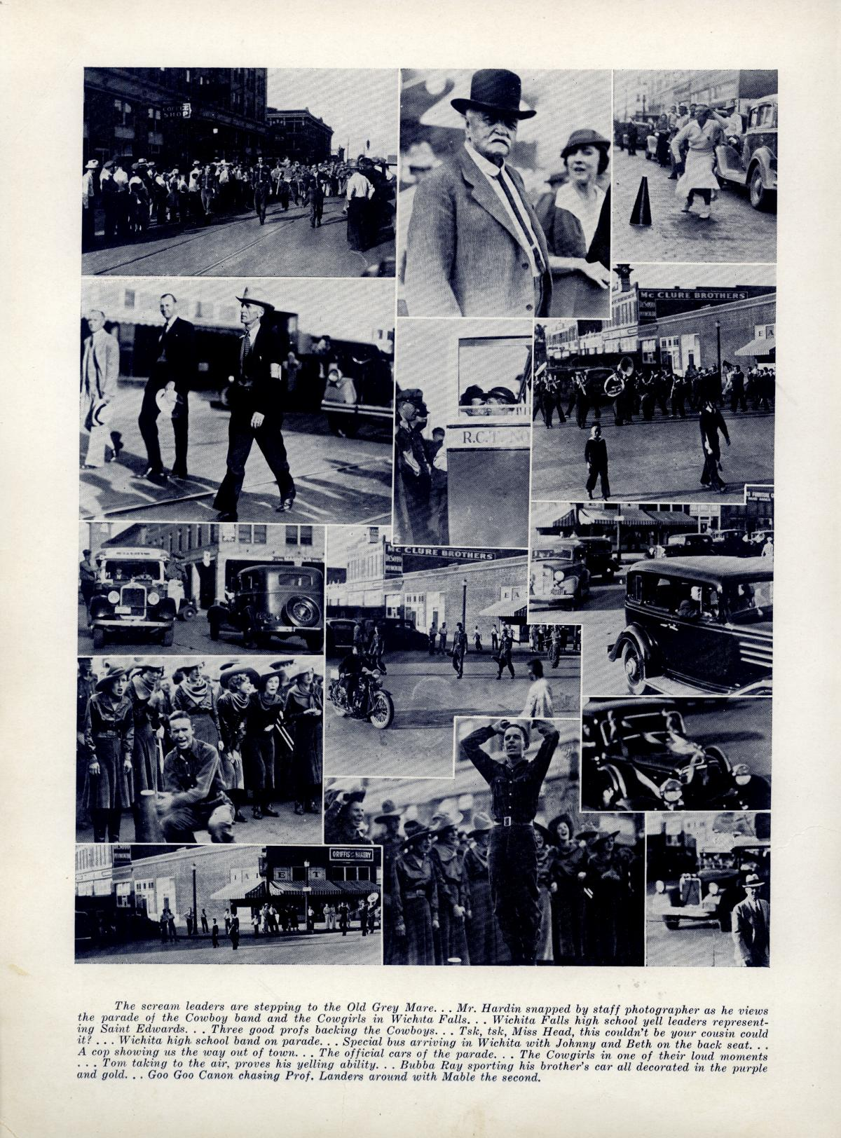 The Bronco, Yearbook of Hardin-Simmons University, 1935                                                                                                      92