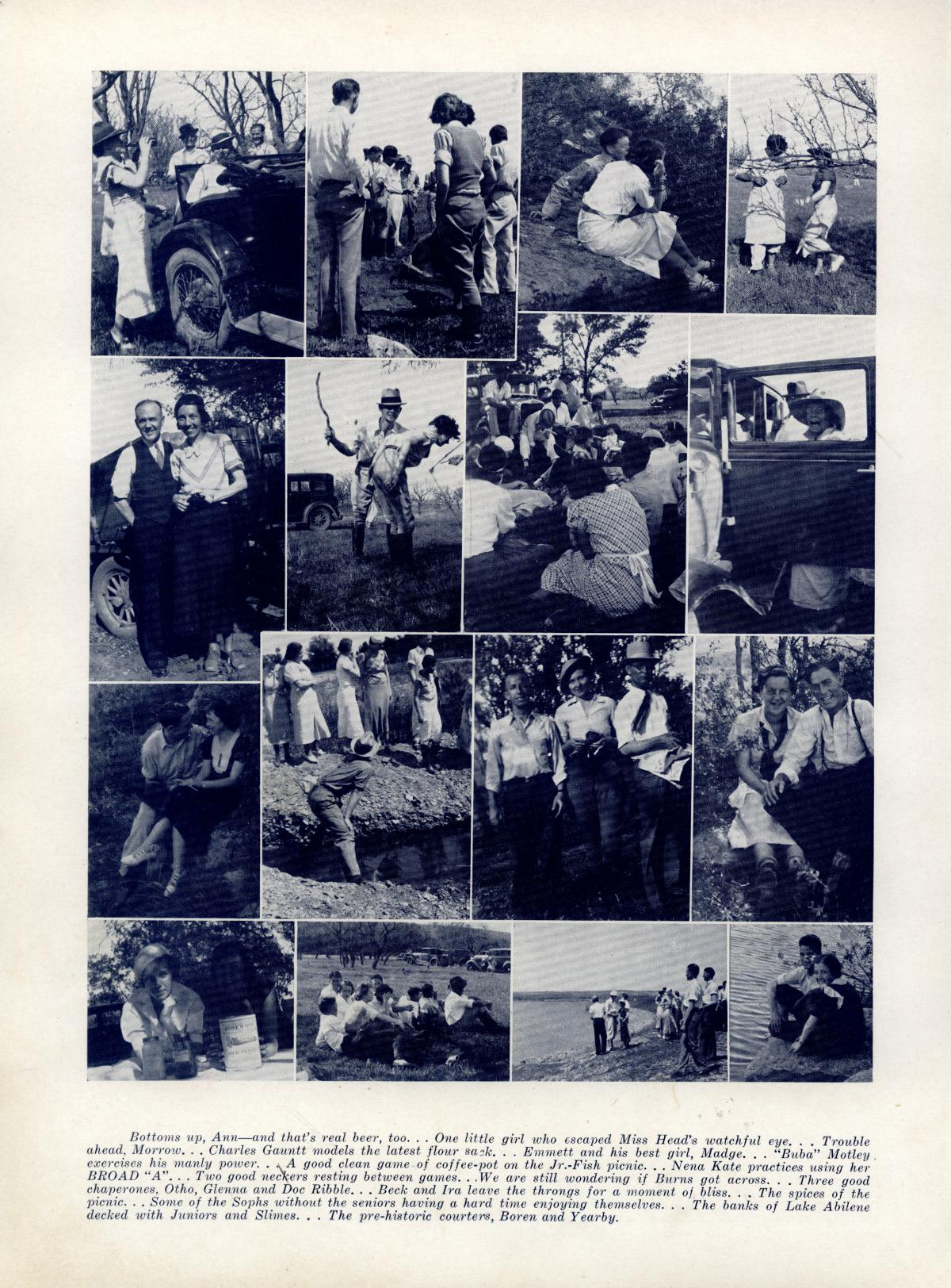 The Bronco, Yearbook of Hardin-Simmons University, 1935                                                                                                      94