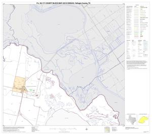 Primary view of object titled 'P.L. 94-171 County Block Map (2010 Census): Refugio County, Block 4'.