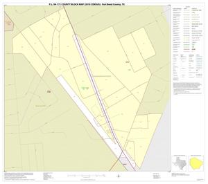 Primary view of object titled 'P.L. 94-171 County Block Map (2010 Census): Fort Bend County, Inset I01'.