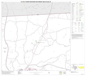 Primary view of object titled 'P.L. 94-171 County Block Map (2010 Census): Marion County, Block 4'.