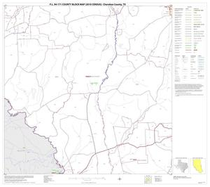 Primary view of object titled 'P.L. 94-171 County Block Map (2010 Census): Cherokee County, Block 14'.