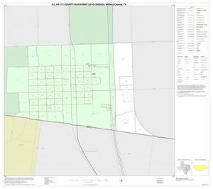 Primary view of object titled 'P.L. 94-171 County Block Map (2010 Census): Willacy County, Inset H01'.