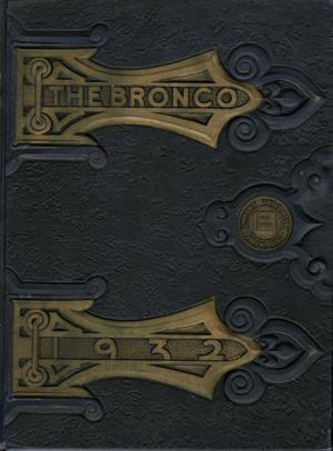 The Bronco, Yearbook of Simmons University, 1932