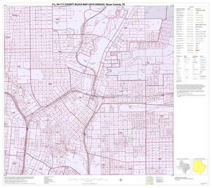 Primary view of object titled 'P.L. 94-171 County Block Map (2010 Census): Bexar County, Inset F04'.