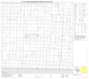 Primary view of object titled 'P.L. 94-171 County Block Map (2010 Census): Parmer County, Block 8'.