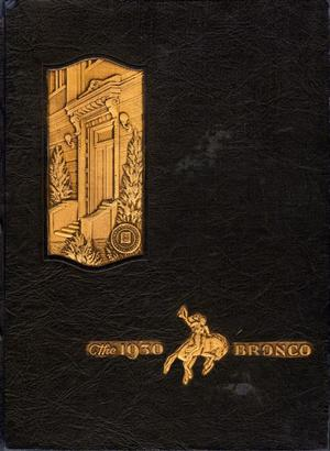 Primary view of object titled 'The Bronco, Yearbook of Simmons University, 1930'.