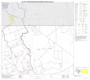 Primary view of object titled 'P.L. 94-171 County Block Map (2010 Census): Dimmit County, Block 3'.