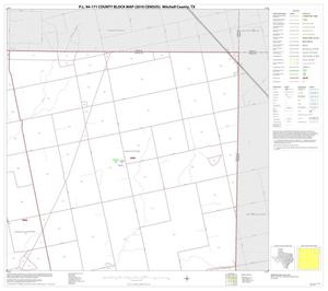 Primary view of object titled 'P.L. 94-171 County Block Map (2010 Census): Mitchell County, Block 4'.