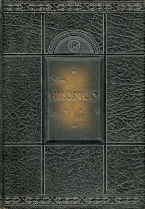 The Bronco, Yearbook of Simmons University, 1928