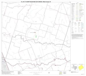 Primary view of object titled 'P.L. 94-171 County Block Map (2010 Census): Milam County, Block 16'.