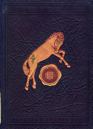 Primary view of object titled 'The Bronco, Yearbook of Simmons University, 1926'.
