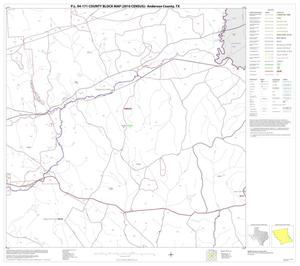 Primary view of object titled 'P.L. 94-171 County Block Map (2010 Census): Anderson County, Block 18'.