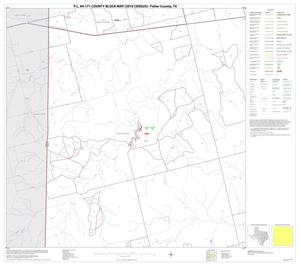Primary view of object titled 'P.L. 94-171 County Block Map (2010 Census): Fisher County, Block 9'.