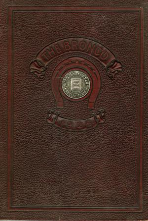 Primary view of object titled 'The Bronco, Yearbook of Simmons College, 1925'.