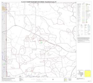 Primary view of object titled 'P.L. 94-171 County Block Map (2010 Census): Shackelford County, Block 4'.