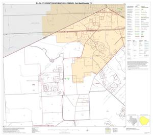 Primary view of object titled 'P.L. 94-171 County Block Map (2010 Census): Fort Bend County, Block 3'.