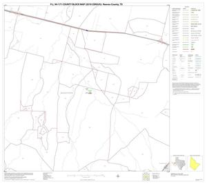 Primary view of object titled 'P.L. 94-171 County Block Map (2010 Census): Reeves County, Block 44'.