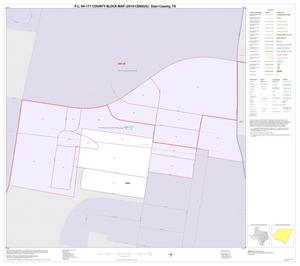 Primary view of object titled 'P.L. 94-171 County Block Map (2010 Census): Starr County, Inset D01'.