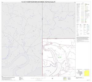 Primary view of object titled 'P.L. 94-171 County Block Map (2010 Census): Palo Pinto County, Block 1'.