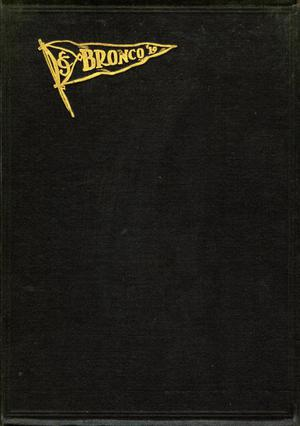 The Bronco, Yearbook of Simmons College, 1919