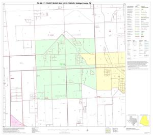 Primary view of object titled 'P.L. 94-171 County Block Map (2010 Census): Hidalgo County, Block 91'.