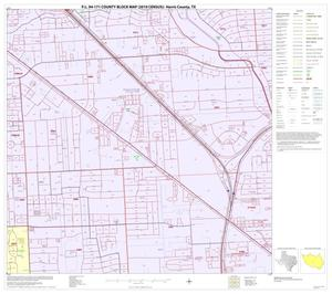 Primary view of object titled 'P.L. 94-171 County Block Map (2010 Census): Harris County, Block 175'.
