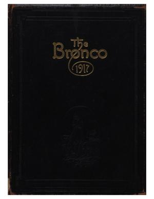 Primary view of object titled 'The Bronco, Yearbook of Simmons College, 1917'.