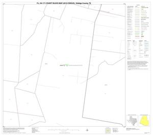 Primary view of object titled 'P.L. 94-171 County Block Map (2010 Census): Hidalgo County, Block 23'.