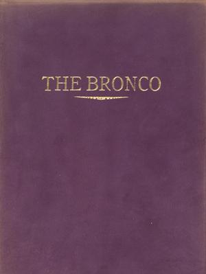 Primary view of object titled 'The Bronco, Yearbook of Simmons College, 1914'.