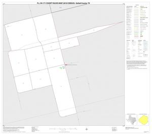 Primary view of object titled 'P.L. 94-171 County Block Map (2010 Census): Goliad County, Inset B01'.