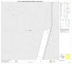 Primary view of object titled 'P.L. 94-171 County Block Map (2010 Census): La Salle County, Inset C01'.