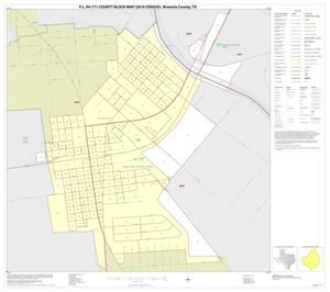 Primary view of object titled 'P.L. 94-171 County Block Map (2010 Census): Brazoria County, Inset Q01'.
