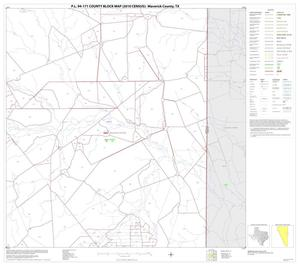 Primary view of object titled 'P.L. 94-171 County Block Map (2010 Census): Maverick County, Block 12'.